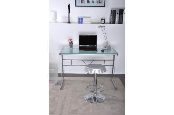 bureau plateau en verre s rigraphi map bureau pas cher. Black Bedroom Furniture Sets. Home Design Ideas