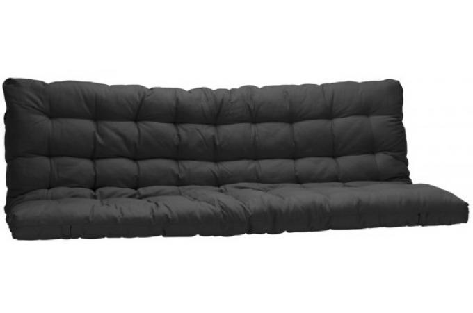 matelas futon pour clic clac 135x190 cm noir dos enveloppant 100 coton minus matelas pas cher. Black Bedroom Furniture Sets. Home Design Ideas