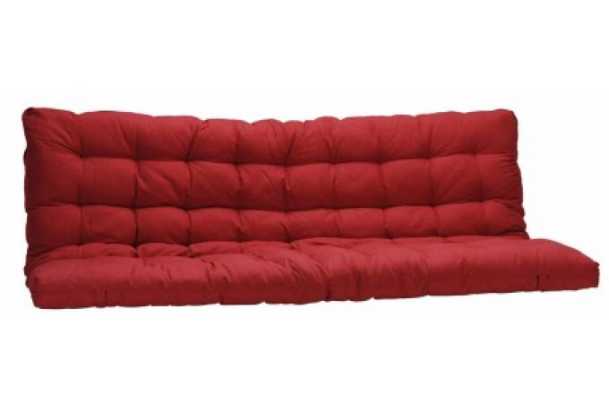 matelas futon pour clic clac 135x190 cm rouge dos. Black Bedroom Furniture Sets. Home Design Ideas