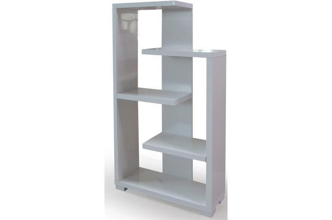 etag re moderne blanc brillant triange etag re pas cher. Black Bedroom Furniture Sets. Home Design Ideas