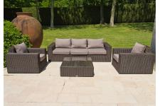 Salon de jardin marron Amazone - Meuble de jardin design
