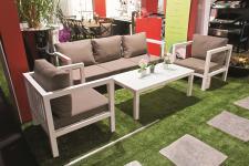 Salon de jardin: Table de jardin, fauteuil, chaise, hamac et transat - 4
