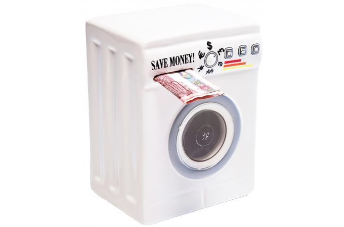 tirelire blanche machine laver tirelire pas cher. Black Bedroom Furniture Sets. Home Design Ideas