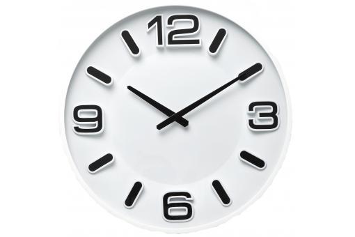 horloge blanche horloge design pas cher. Black Bedroom Furniture Sets. Home Design Ideas