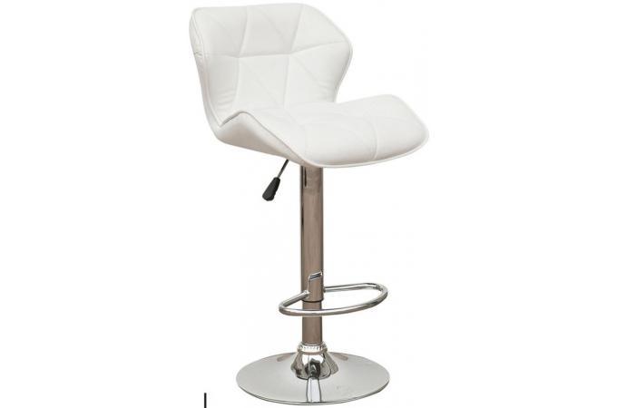Vente tabouret chaise et tabouret de bureau tritoo - Tabouret bar cuir blanc ...