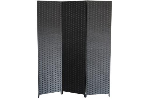 Paravent noir en papier tress janelle paravent pas cher - Paravent papier ...