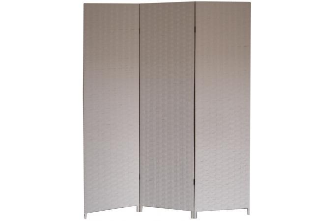 paravent blanc en papier tress janelle paravent pas cher. Black Bedroom Furniture Sets. Home Design Ideas