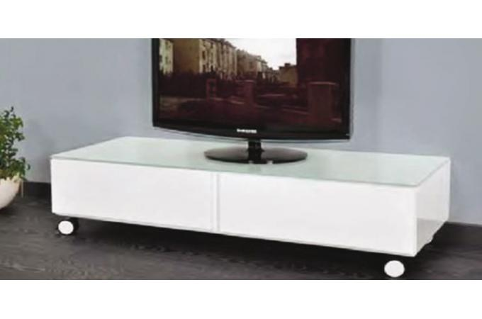 meuble tv blanc roulettes meuble tv pas cher. Black Bedroom Furniture Sets. Home Design Ideas