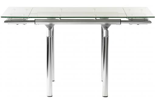 Table d 39 appoint extensible transparente en verre table d 39 appoint pa - Table transparente extensible ...