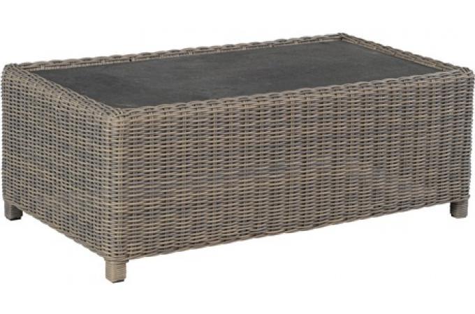 Table basse marron en r sine maora table basse pas cher - Table basse en resine ...