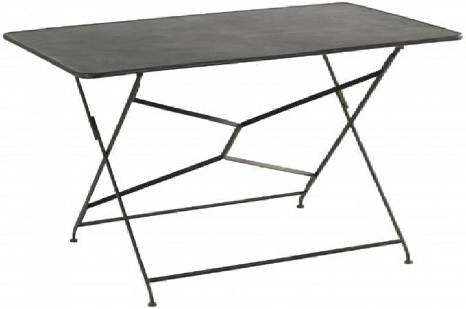 table de jardin noire en m tal mariam table de jardin. Black Bedroom Furniture Sets. Home Design Ideas