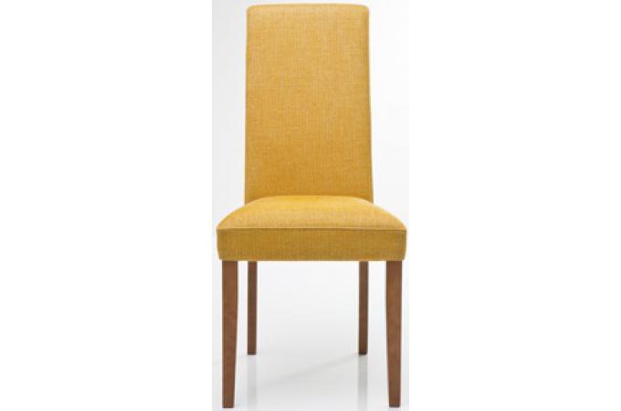 chaise jaune en viscose sylvia chaise design pas cher. Black Bedroom Furniture Sets. Home Design Ideas