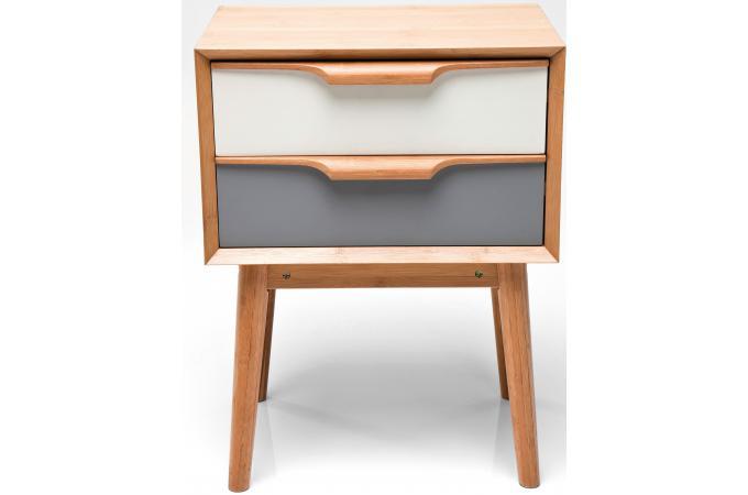 mini commode multicolore plaqu bois sereine meuble de. Black Bedroom Furniture Sets. Home Design Ideas