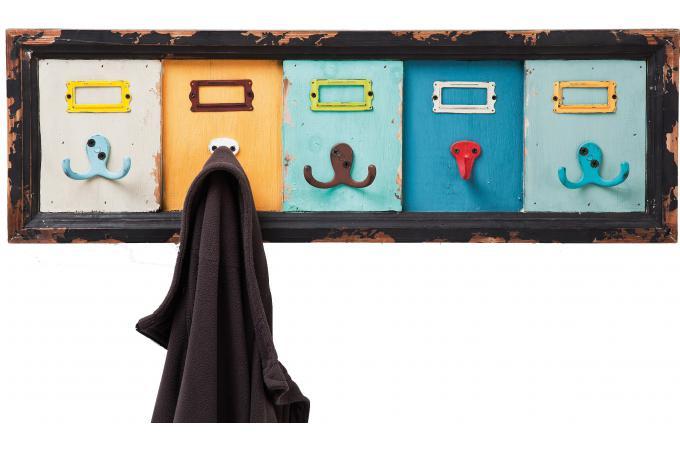 porte manteau mural bois pas cher. Black Bedroom Furniture Sets. Home Design Ideas