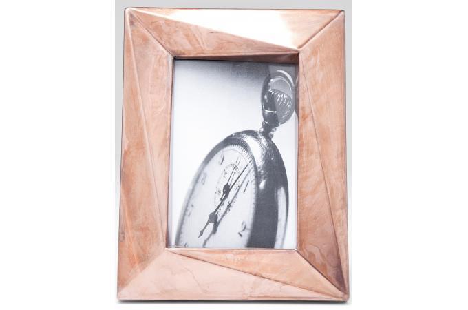 cadre photos vm bronz en acier sacha 17 x 22 cm cadre photo pas cher. Black Bedroom Furniture Sets. Home Design Ideas