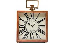 Horloge Design Horloge Kare Design marron en bois Grandfather, deco design