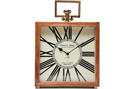 KARE DESIGN - Horloge marron en bois Grandfather