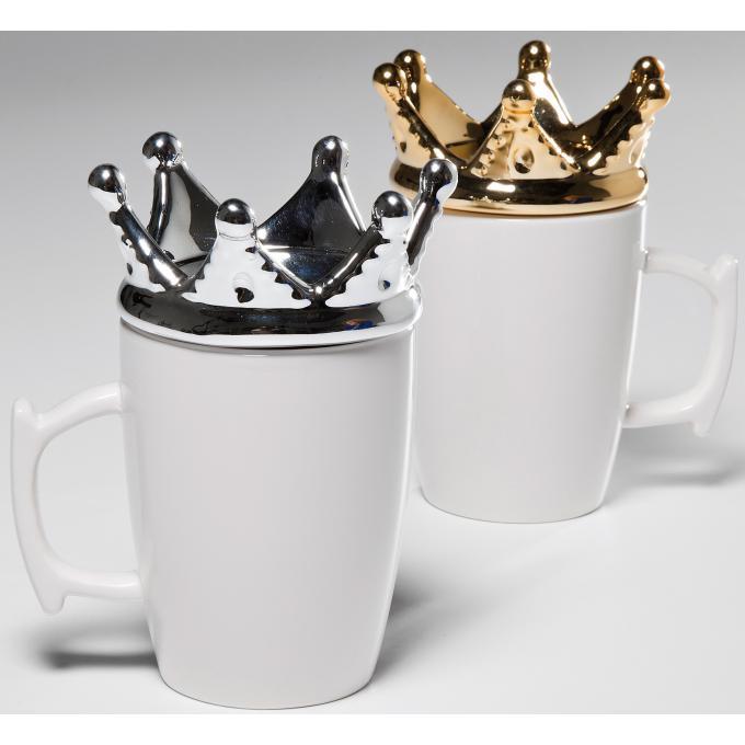mug blanc kare design en c ramique romy mug verre pas cher. Black Bedroom Furniture Sets. Home Design Ideas