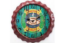 Horloge Design Horloge murale café en bois Renalde, deco design