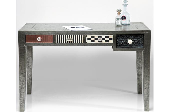 bureau multicolore en bois ravenna table console pas cher. Black Bedroom Furniture Sets. Home Design Ideas