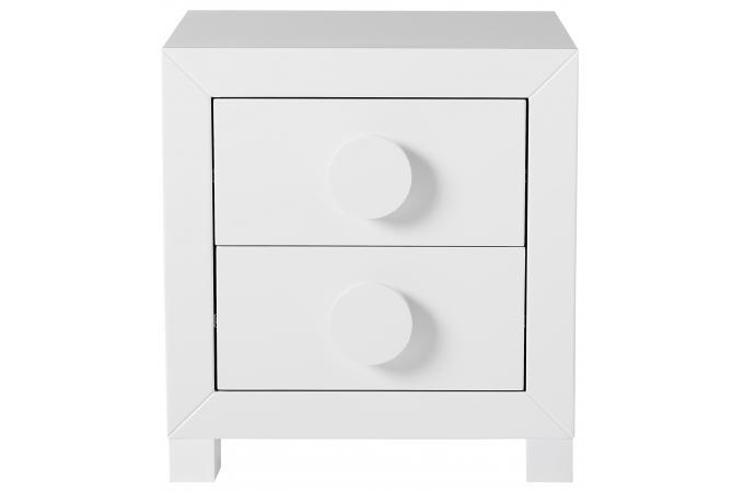 mini commode blanche odyss e console pas cher. Black Bedroom Furniture Sets. Home Design Ideas