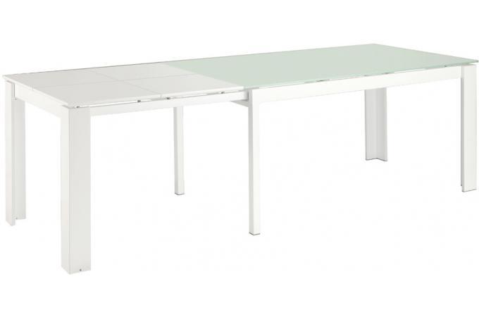 table de s jour extensible blanche table manger pas cher. Black Bedroom Furniture Sets. Home Design Ideas