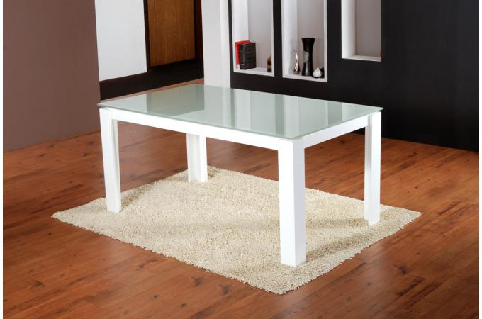 table de s jour extensible blanche table manger pas cher. Black Bedroom Furniture Sets. Home Design Ideas