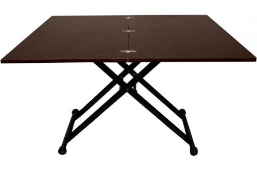 table r haussable double plateau table basse pas cher. Black Bedroom Furniture Sets. Home Design Ideas