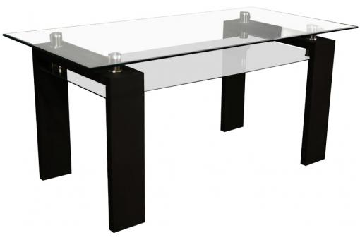 Table rectangulaire Noire