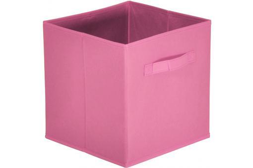 lot de 10 paniers tiroir tissu vieux rose bac de. Black Bedroom Furniture Sets. Home Design Ideas