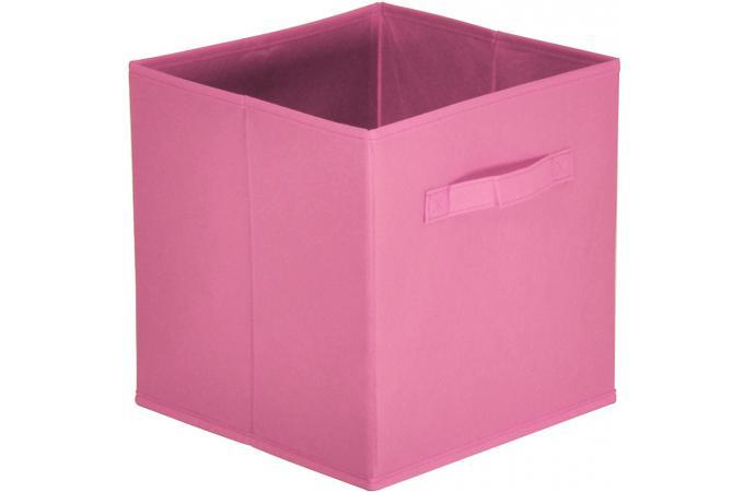 lot de 10 paniers tiroir tissu vieux rose bac de rangement pas cher. Black Bedroom Furniture Sets. Home Design Ideas