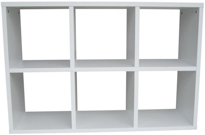 meuble de rangement 6 cases blanc meuble de rangement pas cher. Black Bedroom Furniture Sets. Home Design Ideas