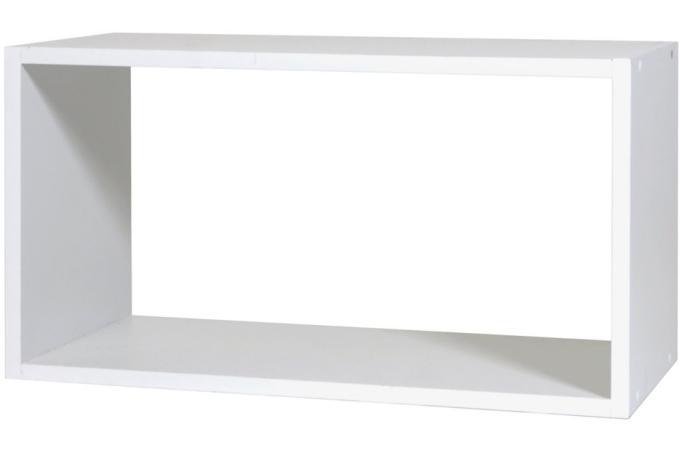 rangement 1 case grand mod le blanc meuble de rangement pas cher. Black Bedroom Furniture Sets. Home Design Ideas