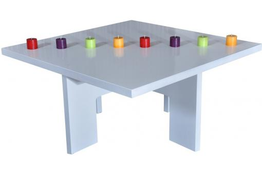Table basse carr e blanche table basse pas cher - Table basse pas cher blanche ...