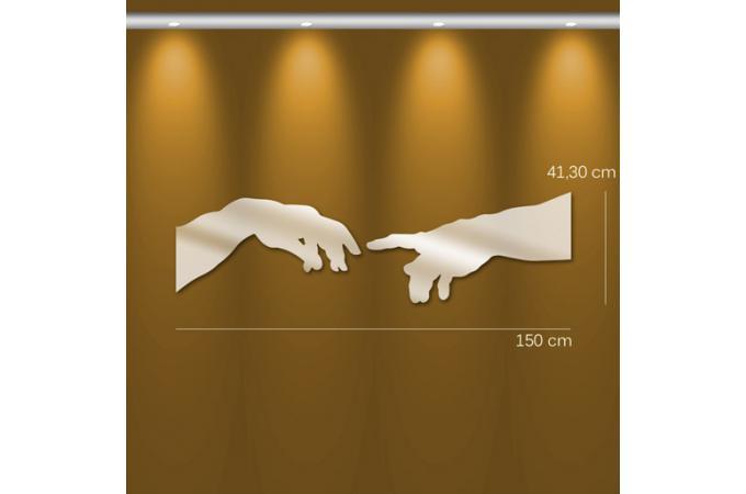 miroir cr ation d 39 adam mm argent en plexiglas urania 41 x 150 cm miroir rond et ovale pas cher. Black Bedroom Furniture Sets. Home Design Ideas