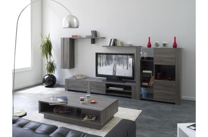 etag re colonne r glisse plaqu bois oaka meuble de rangement pas cher. Black Bedroom Furniture Sets. Home Design Ideas