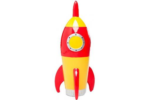 Tirelire jaune Rocket