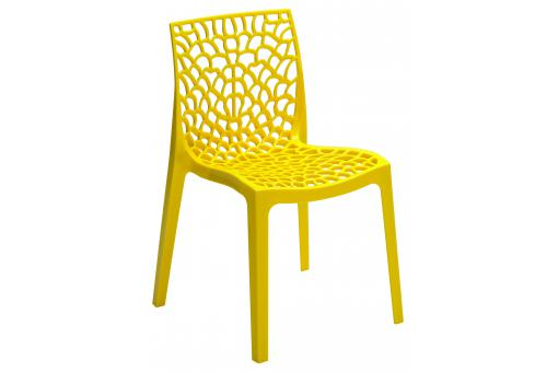 Chaise Design Jaune GRUYER - 3s x home