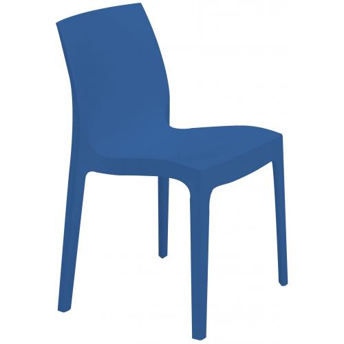 Chaise Design Bleue ISTANBUL - Salle a manger moderne