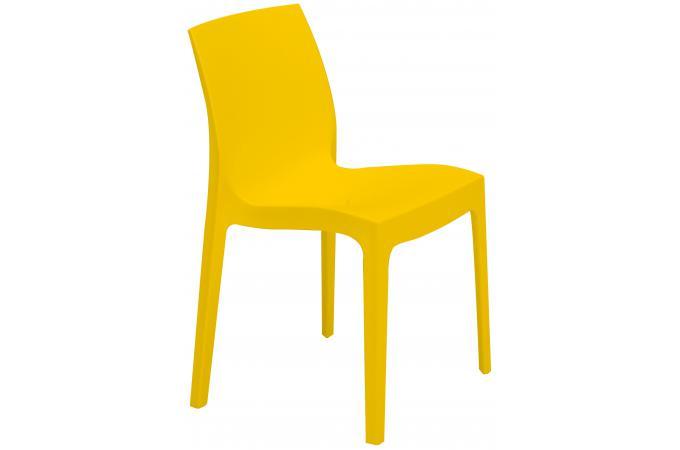 chaise design jaune istanbul chaise design pas cher. Black Bedroom Furniture Sets. Home Design Ideas