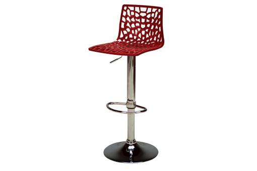 Tabouret De Bar Design Rouge SPARTE