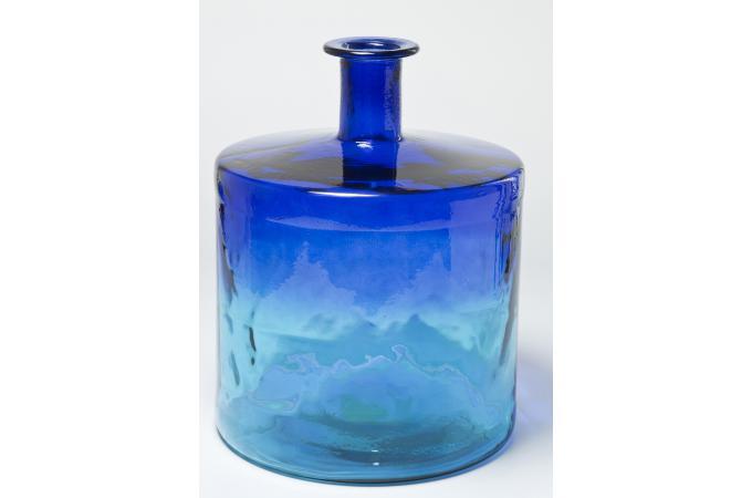 Vase aqua kare design vase pas cher for Objet deco turquoise