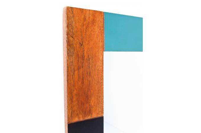 Miroir en bois kare design miroir rectangulaire pas cher for Miroir en bois pas cher