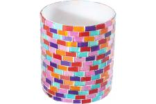 Photophore Brick Multicolore - Decoration de noel design