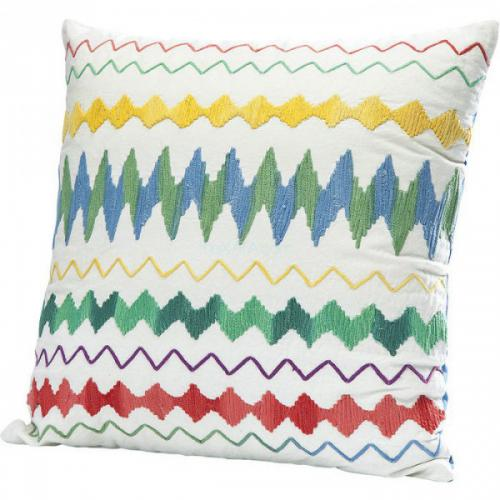 Coussin Mexicain Blanc