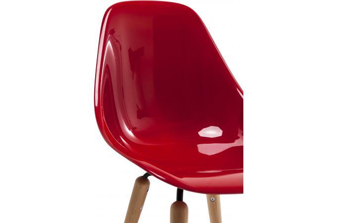 chaise forum rouge r sine design chaise design pas cher. Black Bedroom Furniture Sets. Home Design Ideas