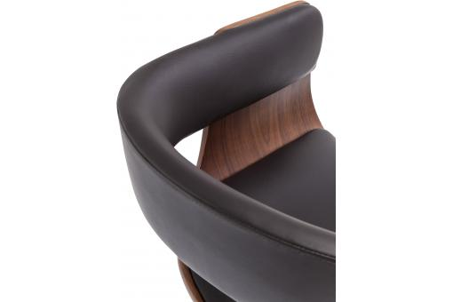 Tabouret de Bar Manhattan Design Noir