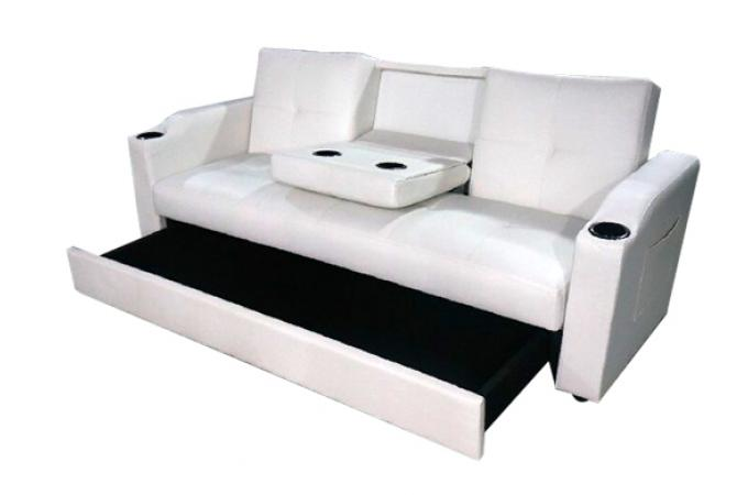 canap convertible napoli blanc 3 canap chesterfield pas cher. Black Bedroom Furniture Sets. Home Design Ideas