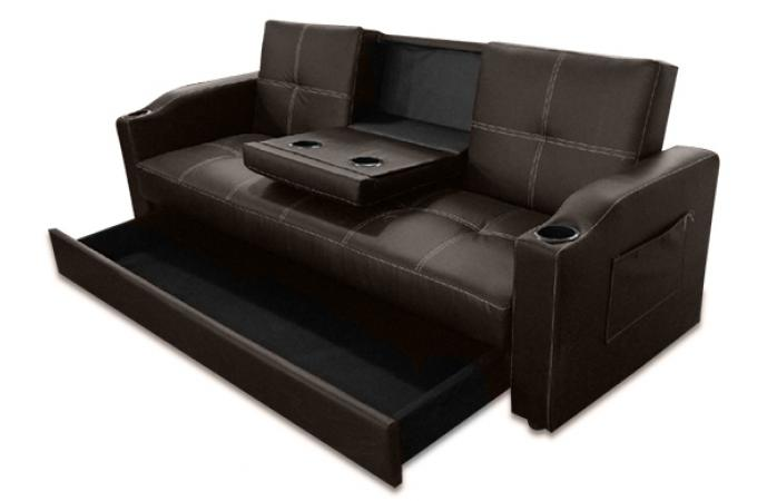 canap convertible napoli marron chocolat 3 canap chesterfield pas cher. Black Bedroom Furniture Sets. Home Design Ideas