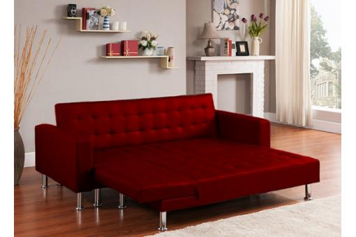 Canapé Chesterfield Rouge
